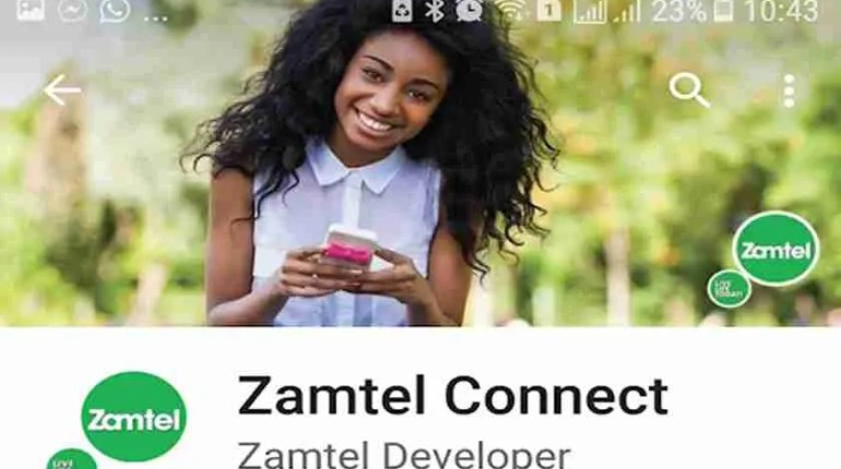 Zamtel Connect is an app developed by Zamtel