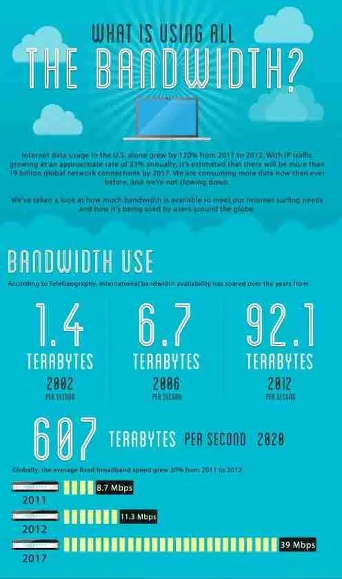 What is using all the bandwidth?