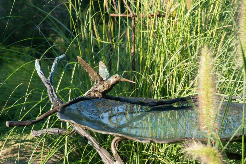 Standing bird bath-3