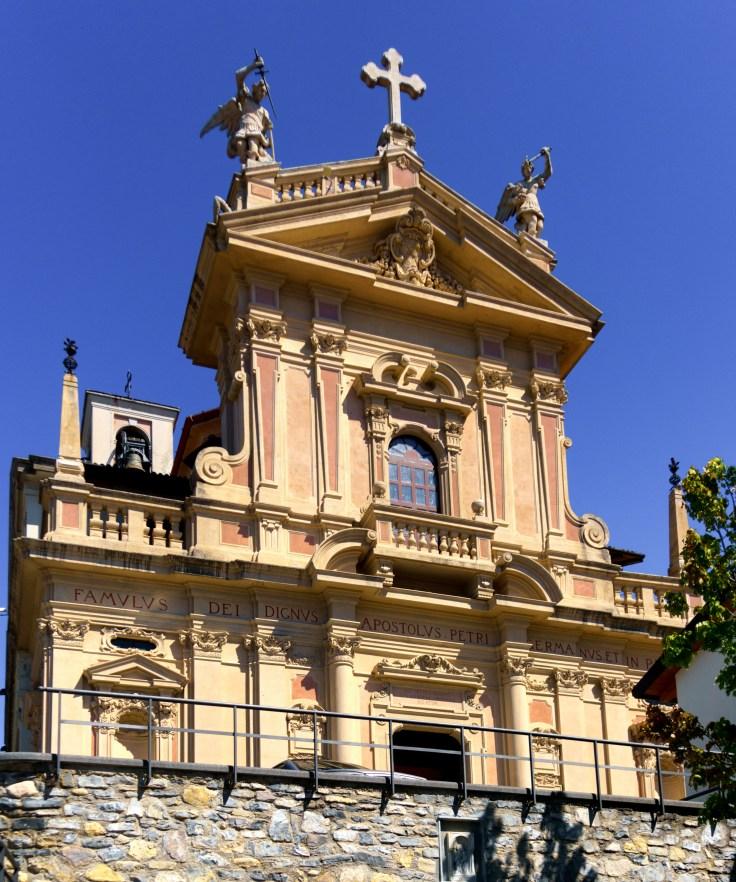 Lake Como Brunate Chiesa di Sant' Andrea Apostolo-1