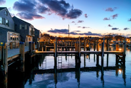 Nantucket Harbor Old South Wharf