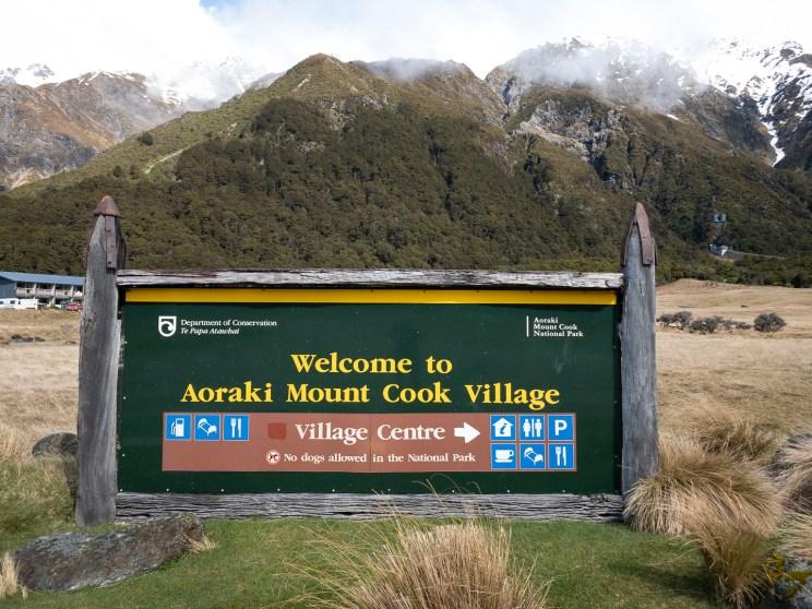 Mount Cook village-1