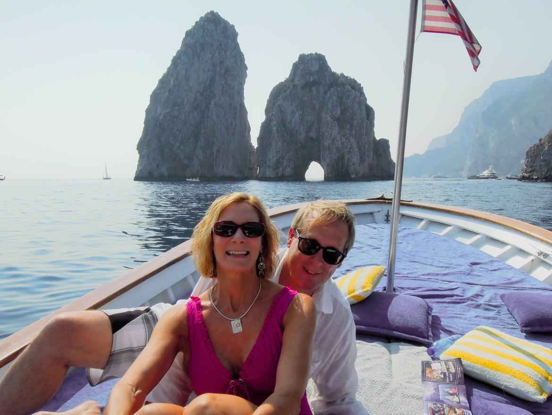 Capri- boat trip -1