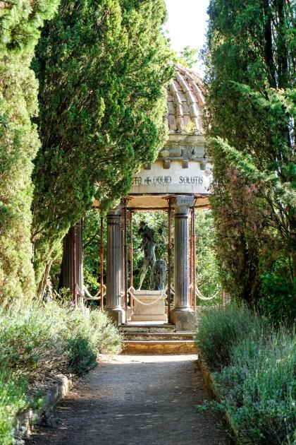 Villa Cimbrone Statue of Bacchus