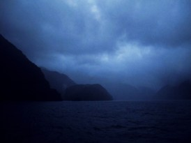 Doubtful Sound in the early morning