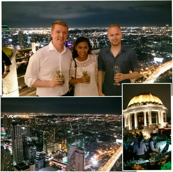 at the sirocco skybar (63rd floor)