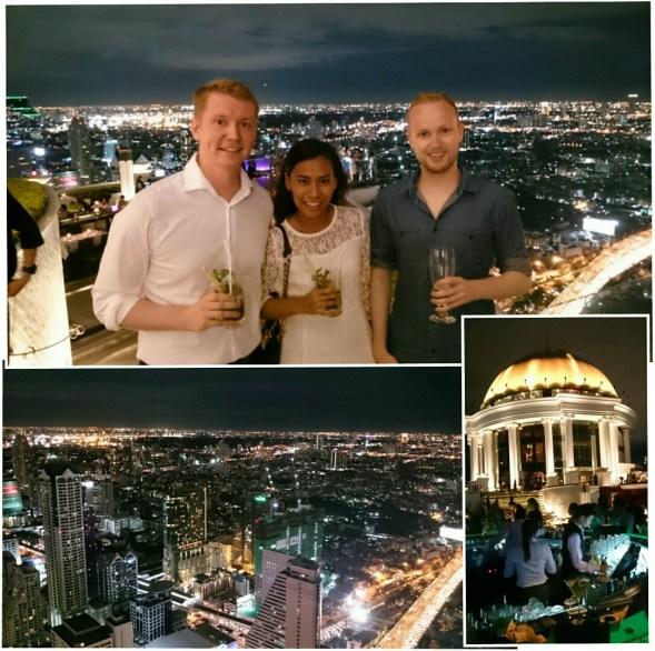 at the sirocco skybar (63rd floor)