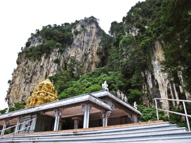 at the Batu Caves
