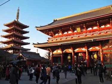 Senoji Temple in Asakusa