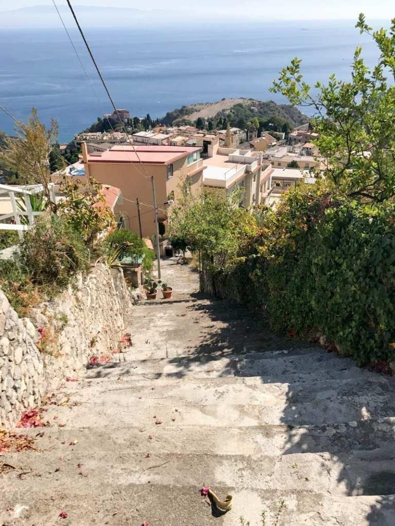 Sicily stairs