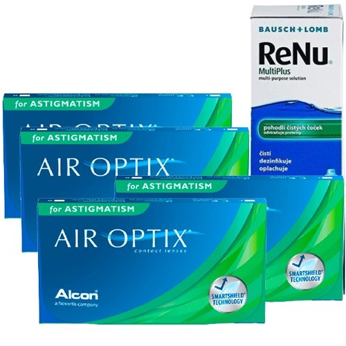 air optix for astigmatism set