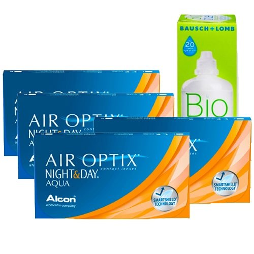 Air Optix Night and Day Aqua Kampanya 4 Kutu