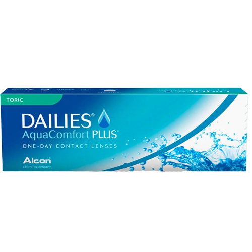 Dailies Aqua Comfort Plus Toric, astigmatlı günlük lens
