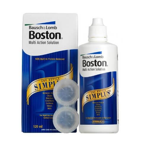 boston sim plus 120 ml lens solüsyonu