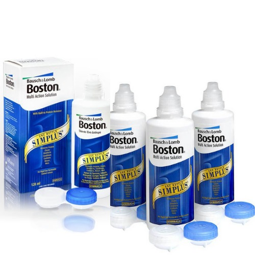 boston simplus sert lens solüsyonu 4 kutu
