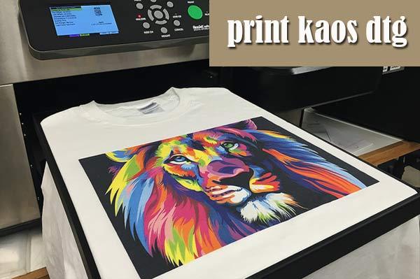 Keunggulan dan Kekurangan Print Kaos DTG