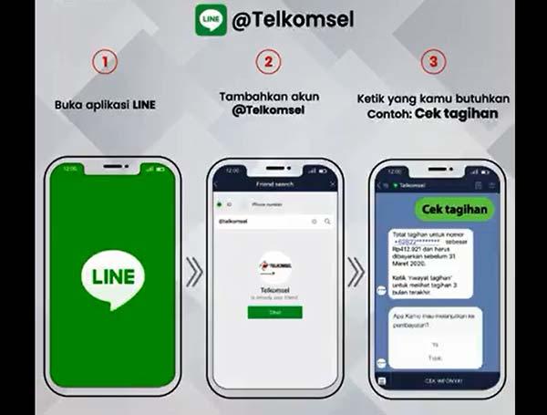 LINE @Telkomsel