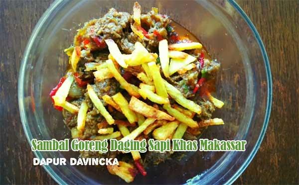 Resep Sambal Goreng Daging Sapi Khas Makassar