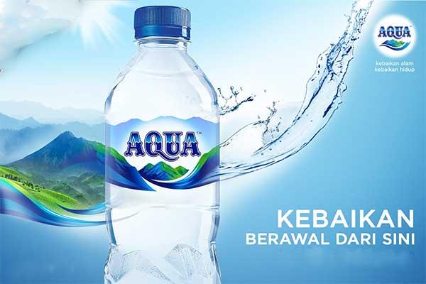 air minum aqua