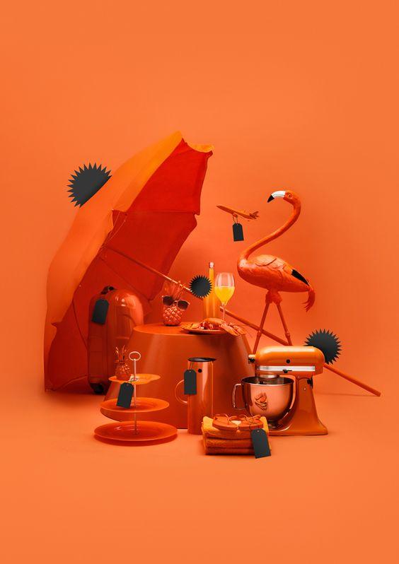 pengaruh dan efek warna orange