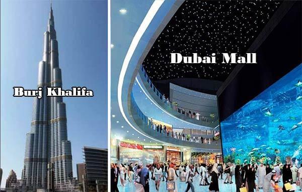 Dubai Mall - Burj Khalifa