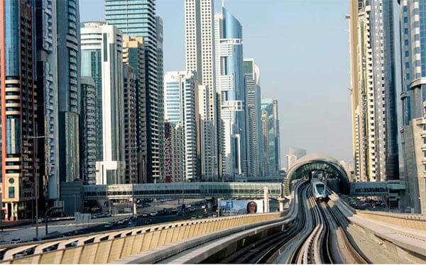 Arsitektur Dubai Metropolitan