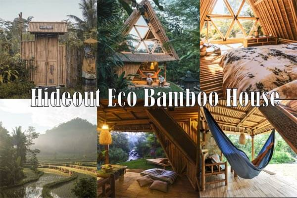 Hideout Eco Bamboo House Bali
