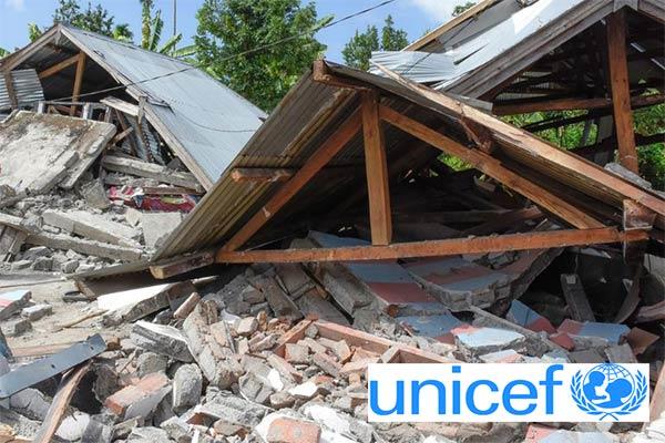 UNICEF Tidak Bantu Rumah Rusak