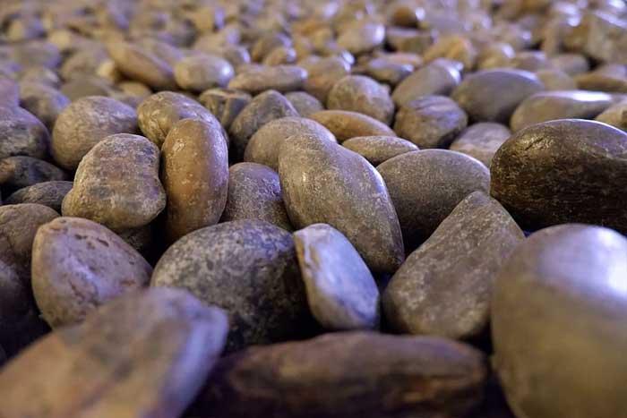 Aplikasi batu koral