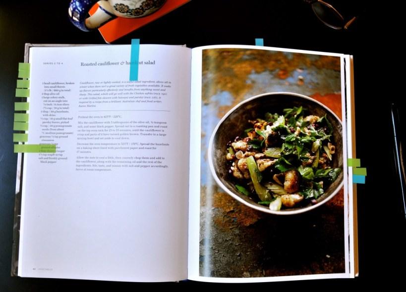 Roasted Cauliflower + Hazelnut Salad