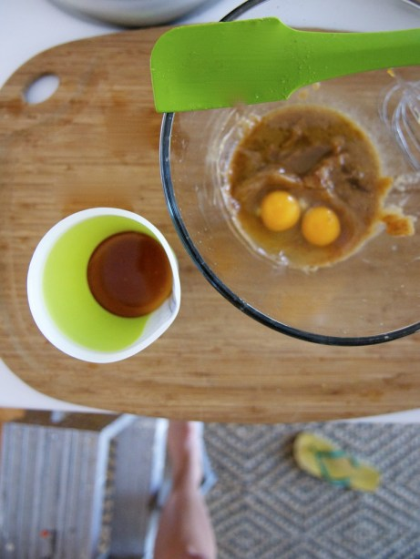 Eggs + Flipflops in the Kitchen