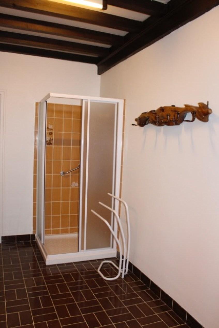 Gîte l'Entre Deux : la salle de bain