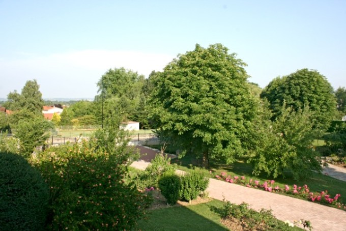 Gite l'Entre Deux : le jardin