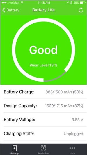batteria iphone