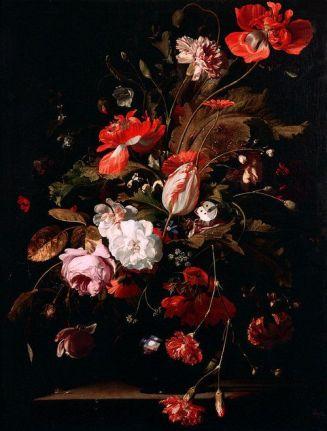 Willem van Aelst, Still-Life with Flowers