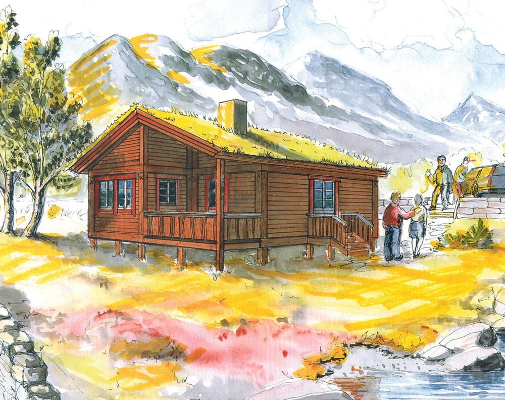 Risvik - Liten koselig hytte