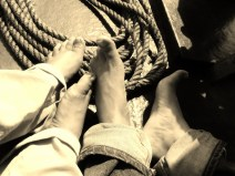 Sailing the backwaters.