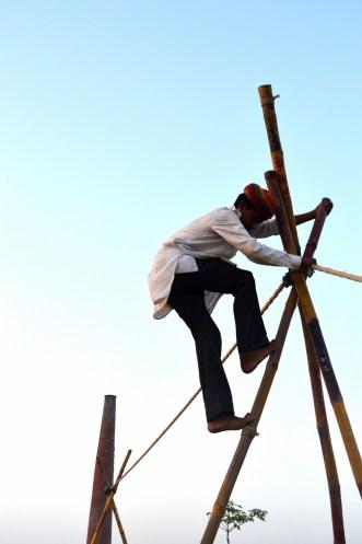 Nimble climber