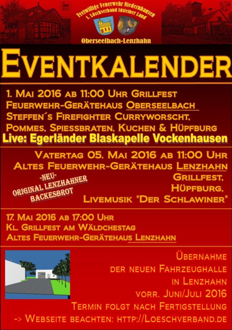 Eventkalender 2016