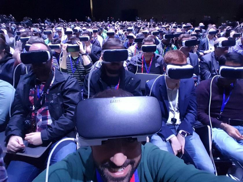 Lanzamiento Galaxy S7 con Gear VR en Barcelona