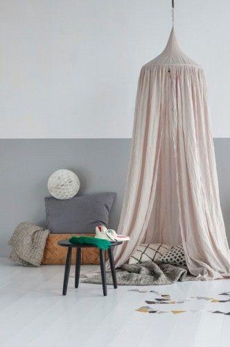 Numero 74 Cotton Canopy Single Light Pink Powder Leo Amp Bella