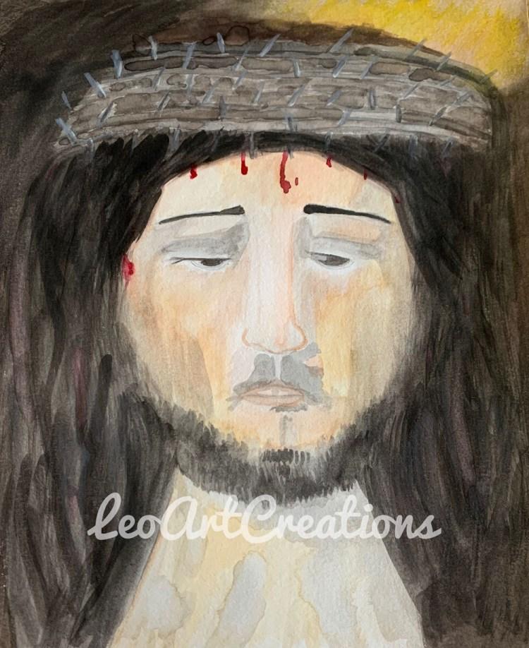 Jesus Christ Our Savior Leo Art Creations