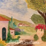 Landscape Tuscany Leo Art Creations