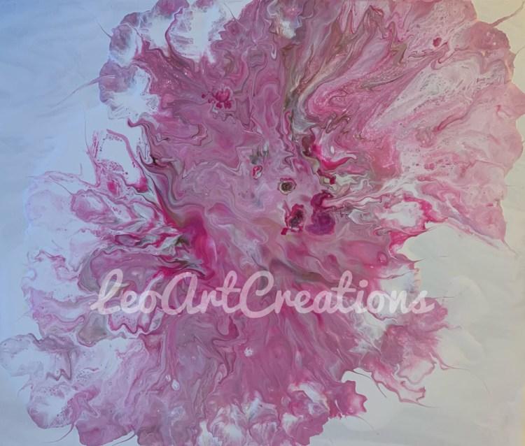 Abstract Ballerina Tutu Leo Art Creations