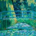 Impressionist Water Lilies Leo Art Creations