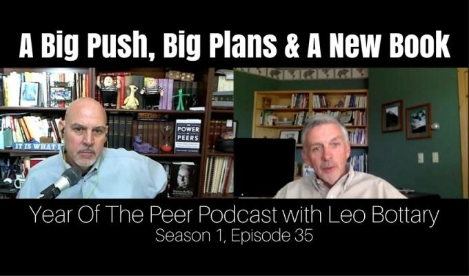 A Big Push, Big Plans & A New Book