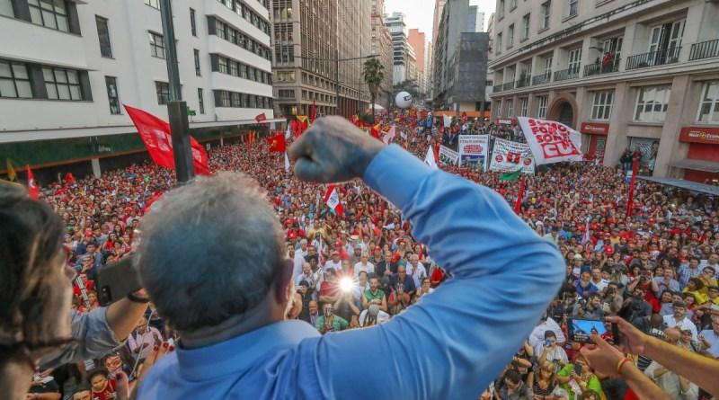 Lançada a candidatura de Lula para as eleições de 2018