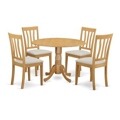 Leo Door-Round-Shaped Ding Table Set