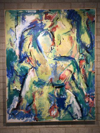 Time to stare, acryl en kunsthars op doek, 170x135 cm