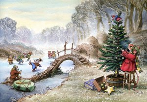 Mimi Mouse Christamas illustrated by Leo Hartas